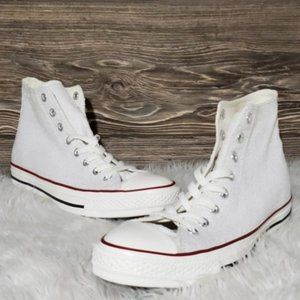 New Converse Chuck Taylor All Star Hi White Star